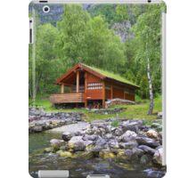 Log Cabin in Skjolden, Norway iPad Case/Skin