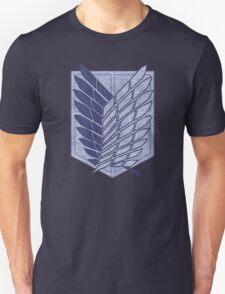 °MANGA° Attack On Titan Denim Logo Unisex T-Shirt