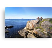 Views beyond Hammerfest, Norway Metal Print