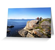 Views beyond Hammerfest, Norway Greeting Card