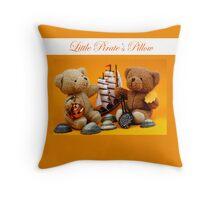 Little Pirate's Pillow Throw Pillow