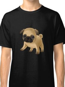 Cute Pug Puppy Classic T-Shirt