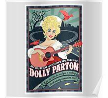 dolly parton artwork Poster