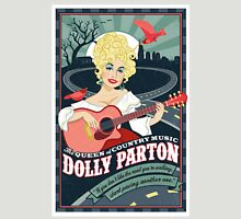 dolly parton artwork Womens Fitted T-Shirt