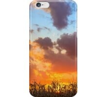 Glorious Harvest - Indiana Sunset iPhone Case/Skin