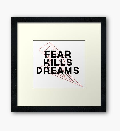 Dream Killer Framed Print