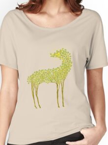 Tree horse with sunburst Women's Relaxed Fit T-Shirt