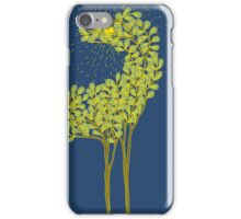 Tree horse with sunburst iPhone Case/Skin