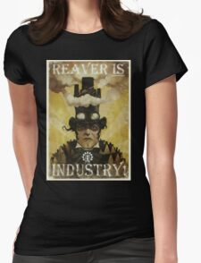 Reaver IS Industry! Womens Fitted T-Shirt