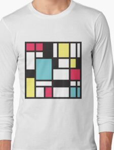 Mondrian Study III Long Sleeve T-Shirt