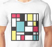 Mondrian Study III Unisex T-Shirt