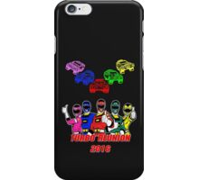Turbo Reunion 2016 (Rangers and Zords) iPhone Case/Skin