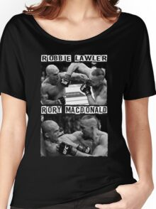 Robbie Lawler Vs Rory Macdonald Women's Relaxed Fit T-Shirt