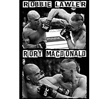 Robbie Lawler Vs Rory Macdonald Photographic Print