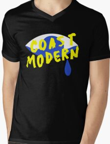 Coast Modern Eye Mens V-Neck T-Shirt