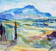 Cezanne's Mountain by TerrillWelch