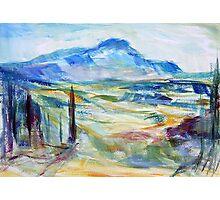 Cezanne's Mountain Photographic Print