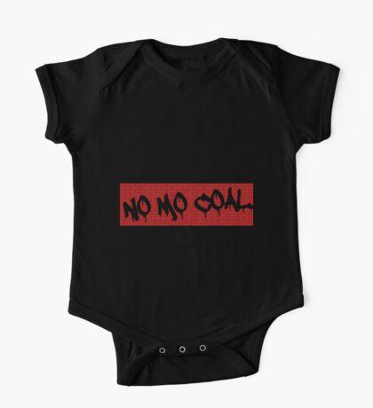 No Mo Coal One Piece - Short Sleeve