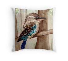 Kookaburra Throw Pillow