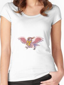 Cockatoo Alt Color Women's Fitted Scoop T-Shirt