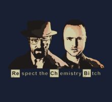Respect the Chemistry Bitch (Sepia) by Mancky