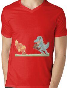 Totodile Run for KFC Mens V-Neck T-Shirt