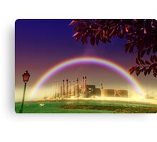 New Earth Project Canvas Print