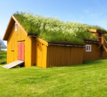 Green Roofs of Norway Sticker