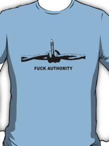 Fuck Authority (Barbwire) T-Shirt