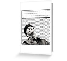 McMurphy from One Flew Over the Cuckoo's Nest Greeting Card