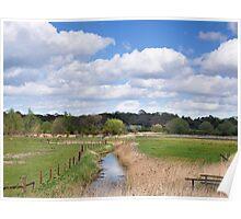 Snape Marsh  Suffolk  UK Poster