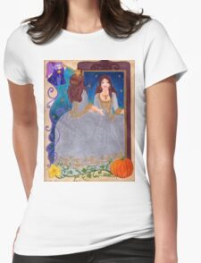 Cinderella Womens Fitted T-Shirt