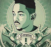 Kendrick Lamar dollar by Tilp