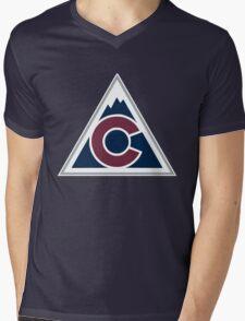 colorado avalanche Mens V-Neck T-Shirt