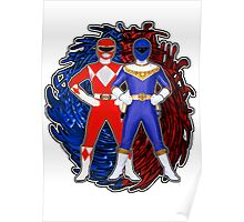 Its Morphin Time - Rocky's Rangers Poster