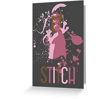 Peach - SUPER SMASH BROTHERS Greeting Card