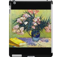 'Still Life with Oleander' by Vincent Van Gogh (Reproduction) iPad Case/Skin