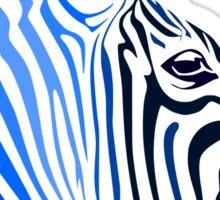 Zebra; Punk Zebra Sticker