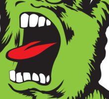 screaming green ILY Sticker