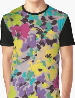 Graphic Flower Pattern III Graphic T-Shirt