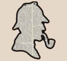 Classic Sherlock Holmes Silhouette - Scandal in Bohemia by BagChemistry