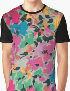 Graphic Flower Pattern VII Graphic T-Shirt