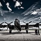 'Just Jane' Lancaster Bomber by Chris Tait