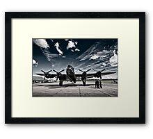 'Just Jane' Lancaster Bomber Framed Print