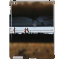 A Glimpse of the Winter Swimmer iPad Case/Skin