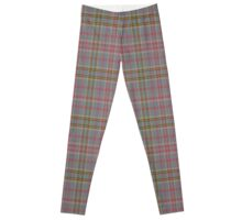02741 Atlantic County, New Jersey Fashion Tartan Leggings