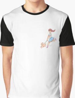 Dog Walking (simple) Graphic T-Shirt