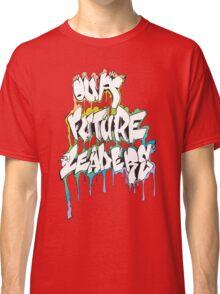 Our Future Leaders Graffiti Rainbow Classic T-Shirt