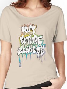 Our Future Leaders Graffiti Rainbow Women's Relaxed Fit T-Shirt