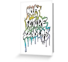 Our Future Leaders Graffiti Rainbow Greeting Card